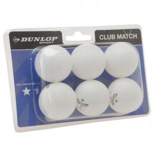 Sada míčků Dunlop, bílé
