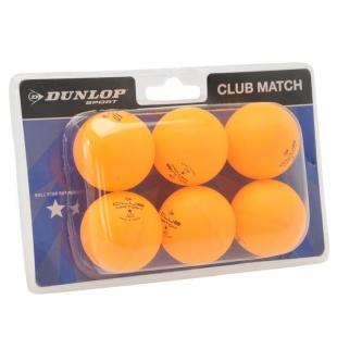Sada míčků Dunlop, oranžové
