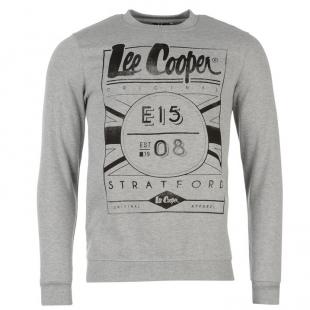 Pánský svetr Lee Cooper, šedý