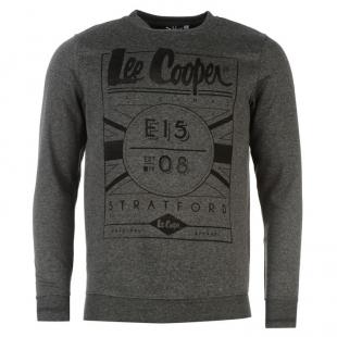 Pánský svetr Lee Cooper, tmavě šedý