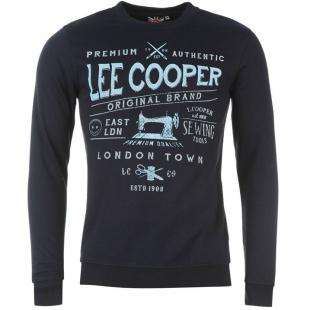 Pánská mikina Lee Cooper, tmavě modrá