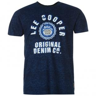 Pánské triko Lee Cooper, tmavě modré
