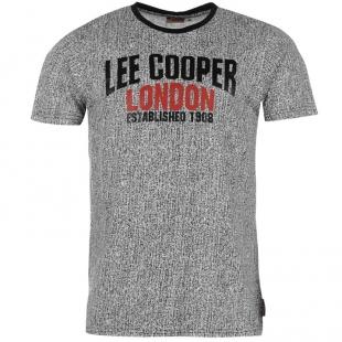 Pánské triko Lee Cooper, šedé