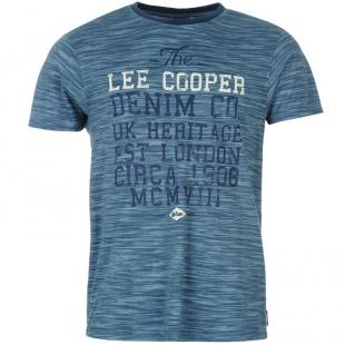 Pánské triko Lee Cooper, modré