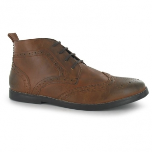 Pánské boty Iconic Lee Cooper, hnědé