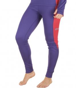 Dámské termo kalhoty, fialové