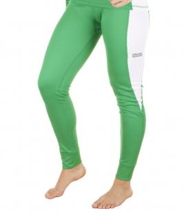 Dámské termo kalhoty, zelené