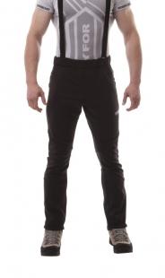 Pánské softshellové kalhoty, černé