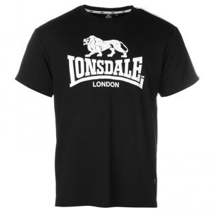 Pánské triko Lonsdale, černé