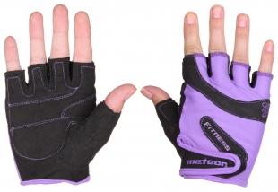 Fitness rukavice Grip Lady, fialové