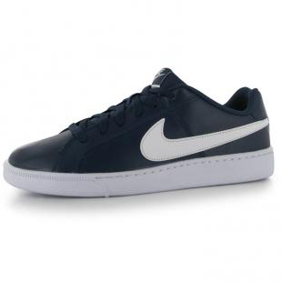Nike - Pánské boty Court Royale, modrobílé