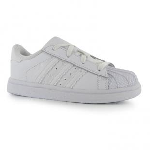 Adidas - Dětské boty superstar, bílé