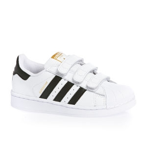 Adidas - boty superstar, bíločerné
