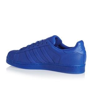 Adidas - Pánské boty superstar, modré