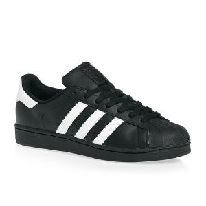 Adidas - Pánské boty superstar, černobílé
