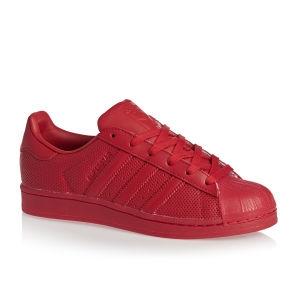 Adidas - Dámské boty superstar, červené | Obuv | Vceldashop.cz