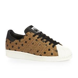 Adidas - Dámské boty superstar, hnědé