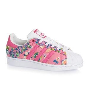 Adidas - Dámské boty superstar, růžové