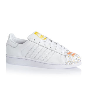 Adidas - Dámské boty superstar, bílé