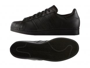 Adidas - Pánské boty superstar, černé