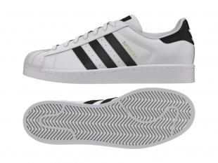 Adidas - Pánské boty superstar, bíločerné
