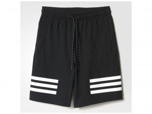 Adidas - pánské  kraťasy LIN3S, černé