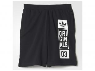 Adidas - pánské kraťasy Street, černé