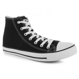 Lee Cooper Great High dětské boty, černá