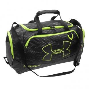 Under Armour - cestovní taška, zelenočerná