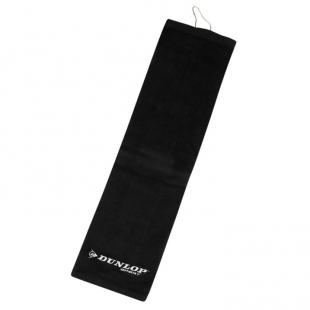 DUNLOP - ručník na golf, černá