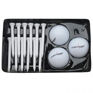 DUNLOP - golfové míčky, bílé