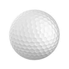 DUNLOP - golfové míčky, bílé (baleni 5 ks)