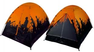 Abbey Camp stan Festival pro dva - oranžový