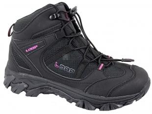 Dámské outdoorové boty Loap delin, černorůžové