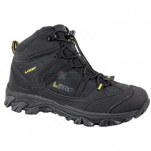 Pánské outdoorové boty Loap RAVE, černá/žlutá
