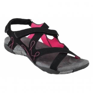 Dámské sandále Loap - Černořůžové