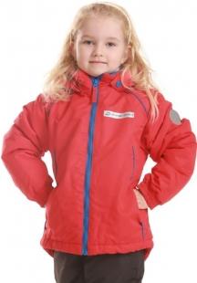 Dětská bunda AlpinePro Geminiano - červená