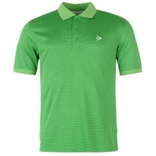 Pánské Polo Dunlop - Zelené