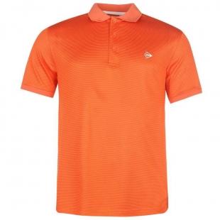 Pánské Polo Dunlop - Oranžové